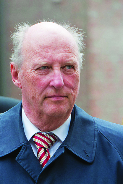 Photo: Tor Atle Kleven / Wikimedia Commons King Harald V in 2010.