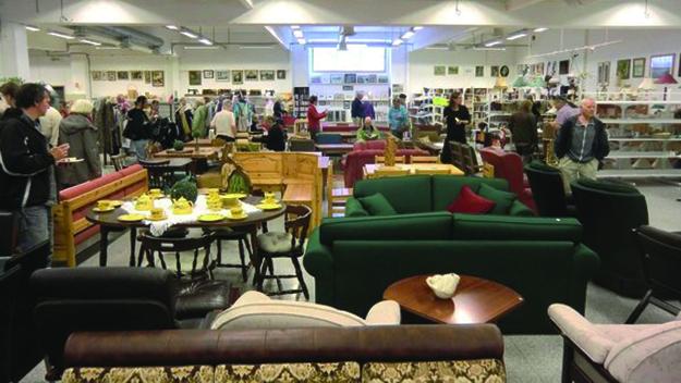 Photo courtesy of Victoria Hofmo Gjenbruksbutikken is full of vintage Norwegian goods.