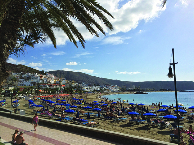 Photo: David Nikel  The Canary Islands offer Norwegians the perfect, sunny vacation spot.