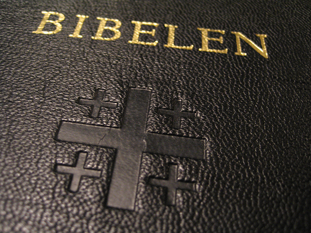 Photo: Pål Berge / Wikimedia Commons The Norwegian Bible.