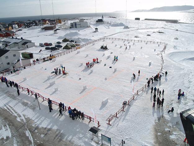 Photo: Knut Ramleth / Yukigassen.no The battleground in 2012.
