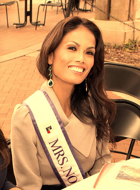 Photo courtesy of Eva Worren Chambers   Eva Worren Chambers will be the first to represent Norway in the Mrs. International pageant.