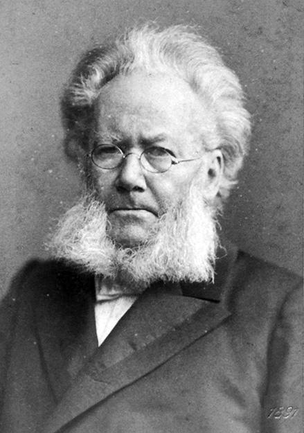 Photo: Wikimedia Commons Henrik Ibsen