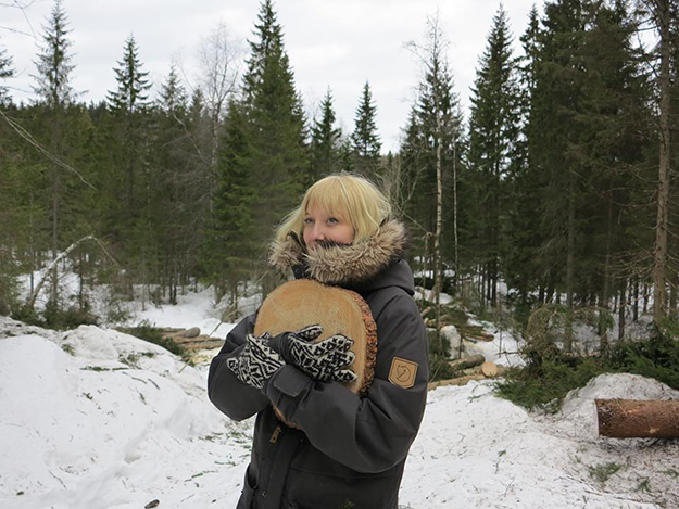 Photo: Future Library / Facebook Katie Paterson won't get to read the books that will be made from her forest.