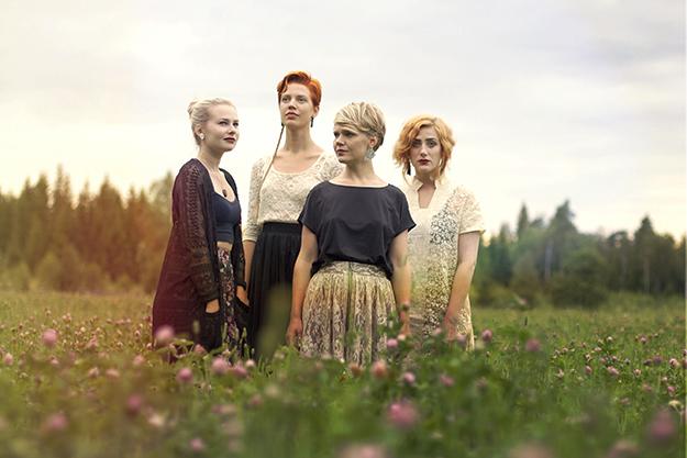 Photo: Emma Engström / Svengström Musik & Illustration Åkervinda is reinventing the Nordic folk tune.