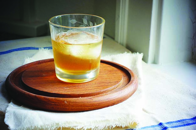 Photo: Emily Vikre Akevitt, rye, and a touch of spice make for the ideal autumn cocktail.