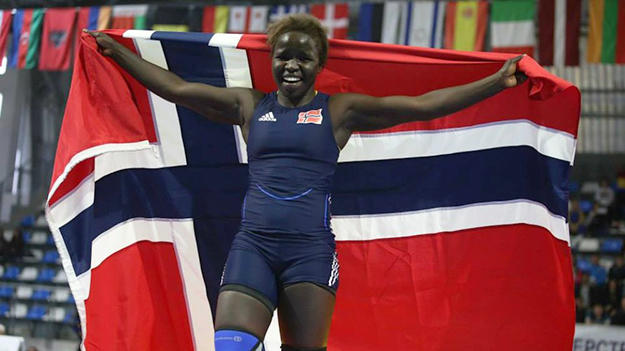 Photo: Kostadin Andonov Norway's Grace Bullen won gold in the finals of the Youth Olympic Games in China.
