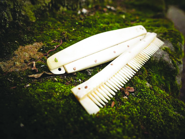 Photo: Ross Doherty, courtesy of University of York This antler comb found near Ribe, Denmark, could only have made it to the area by means of trade with Vikings from the north.