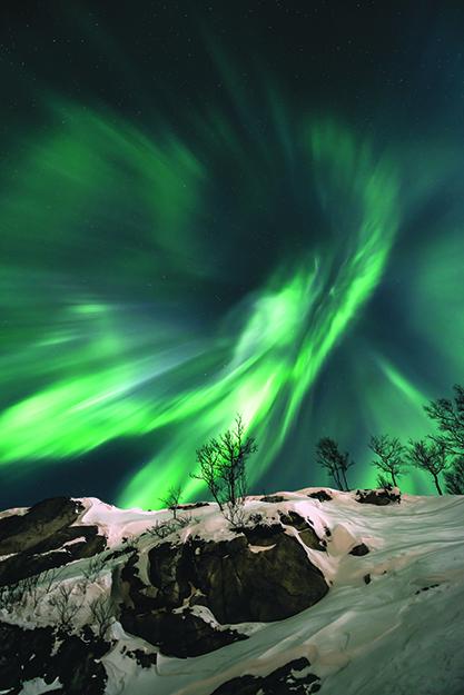 "Photo: ""Green Energy"" by Fredrik Broms / www.northernlightsphotography.no"