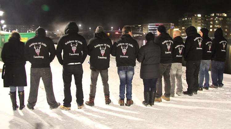 Photo: Dennis Ravndal / VG Soldiers of Odin.