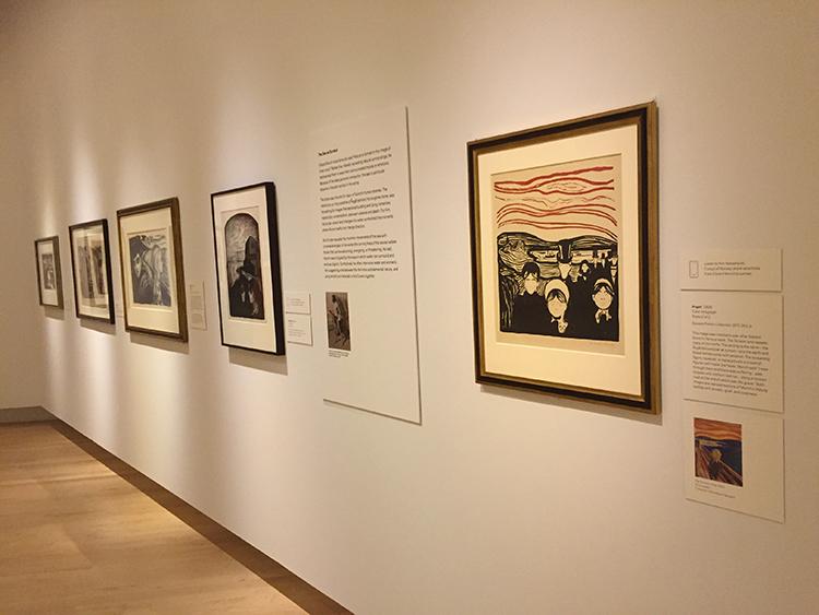 "Photo: Linn Chloe Hagstrøm Edvard Munch's  ""Anxiety."""