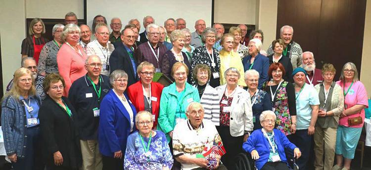Photo: Bygdelagenes  Fellesraad Norwegian Americans gather in Minnesota to celebrate a century of  Bygdelagenes  Fellesraad.