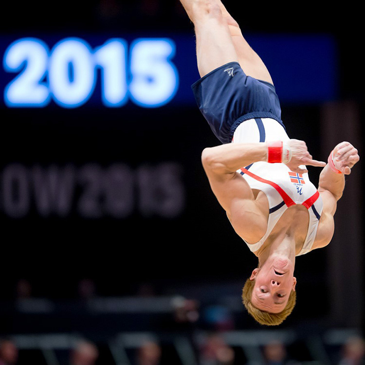 Photo: Christian Thomassen Stian Skjerahaug hopes to place in the top 24 in the Rio summer games.