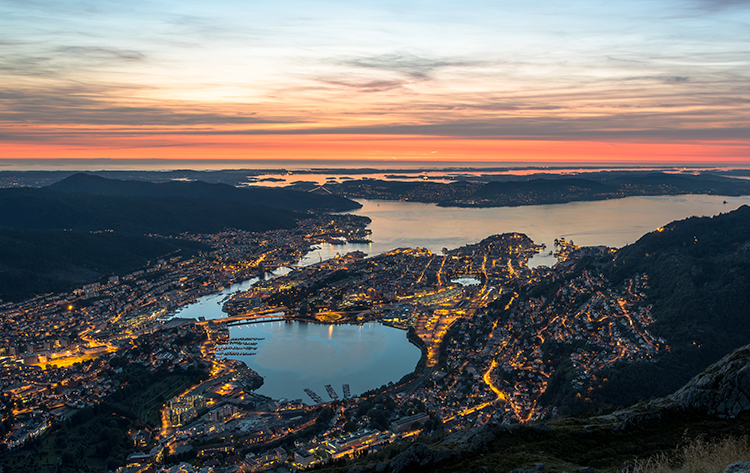 Photo: Tomasz Furmanek / Visitnorway.com The city of Bergen is a paradise for music. What makes it so, and could those aspects be put in place elsewhere?