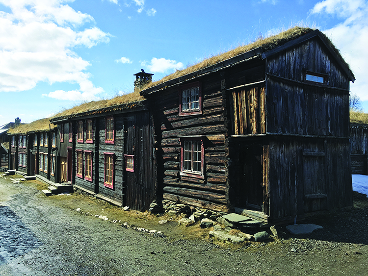 Photo: David Nikel The picturesque Røros shown here is the version of the town that most people know.