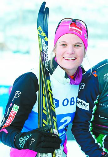 Photo: Terje Pedersen / Aftenposten Mari Eide.
