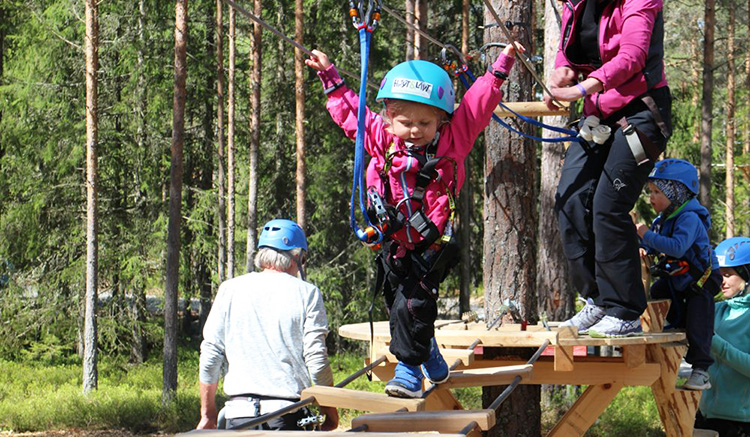 Photo courtesy of Høyt og Lavt The parks are fun for visitors of all ages.