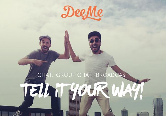 Photo courtesy of DeeMe  This new app wants to be the most amazing visual messaging service.