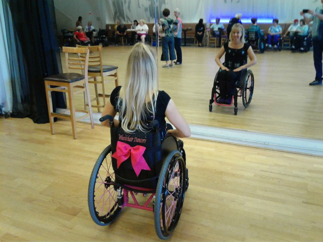 Photo: David Moe Kara Paulson, who has been in a wheelchair for over 30 years, still loves to dance.