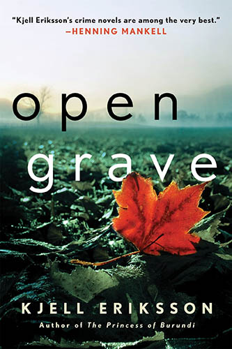 book cover for Open Grave