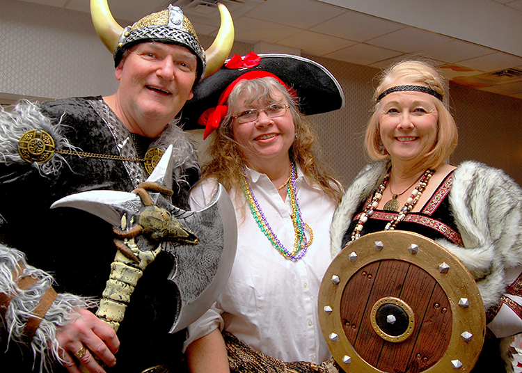 Costumes abounded at the Scandinavian East Coast Museum's Fastelavn celebration held in early February.