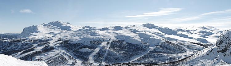 Hemsedal mountains