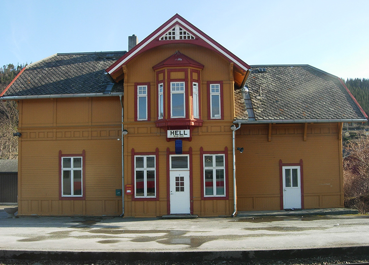 The Hell trainstation
