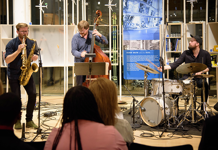 Gard Nilssen's Acoustic Unity performs at the Nordic Jazz Festival