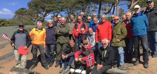 The Seigkællane group of men ages 62 to 95.