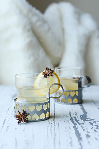 hot aquavit toddy