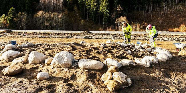 Bronze Age graves