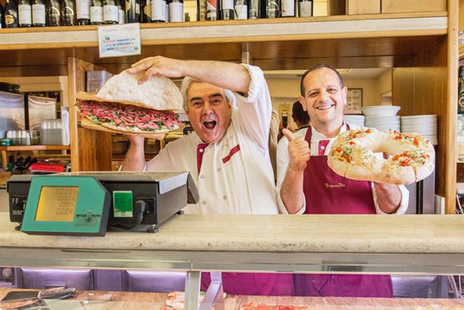 Food tourism: pizza italiano