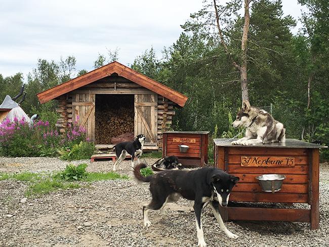 Sámi village, Alta, Norway