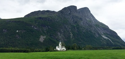 Be Not Afraid: Sira Church in Eresfjord, Norway