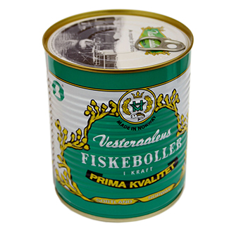 canned fish products