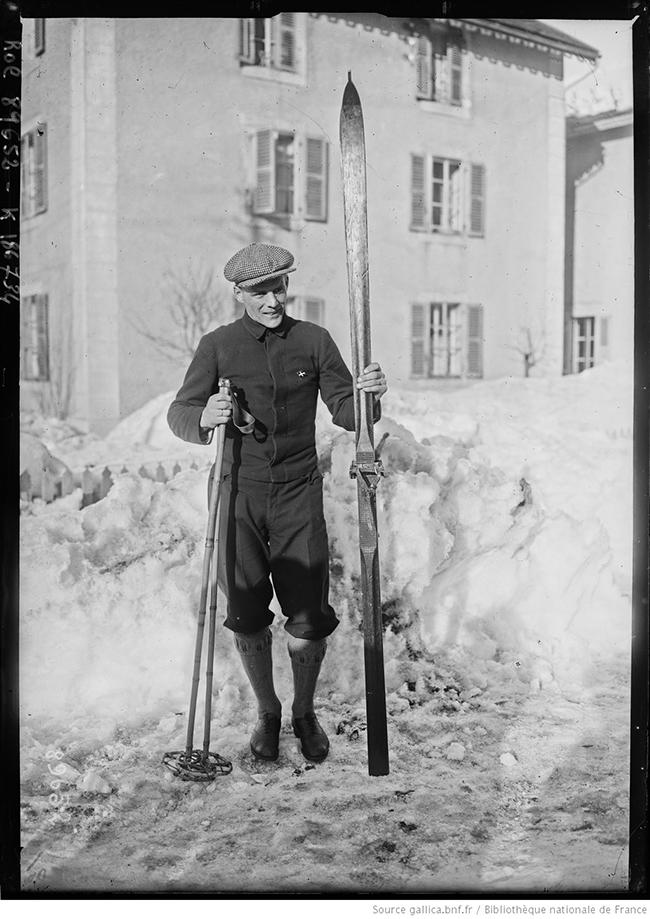 Norwegian Winter Olympic medals: Thorleif Haug
