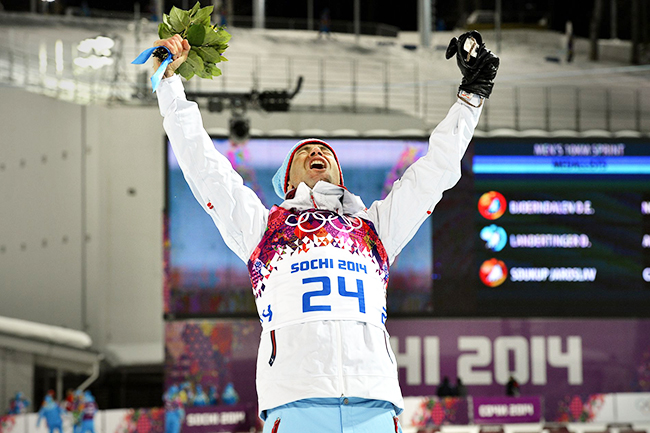 Norwegian Winter Olympic medals: Ole Einar Bjørndalen