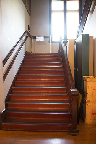 Webster School staircase
