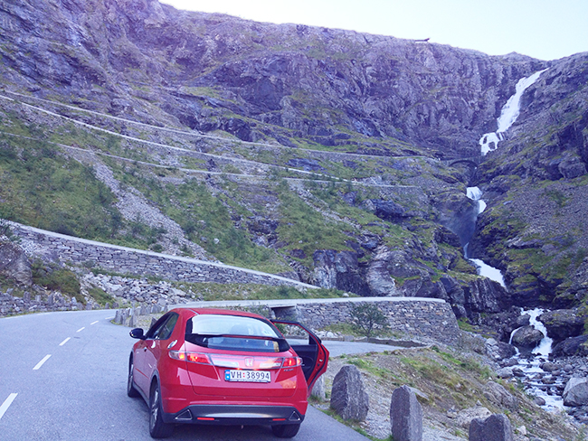 Norwegian road trip to Trollstigen