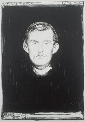 Nordic Impressions - Munch self portrait