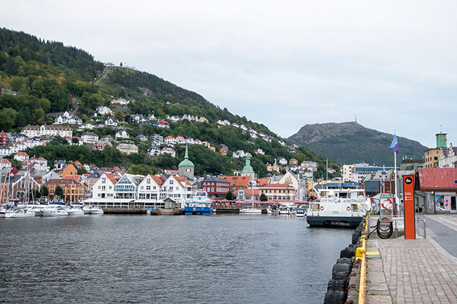 seven hills of Bergen