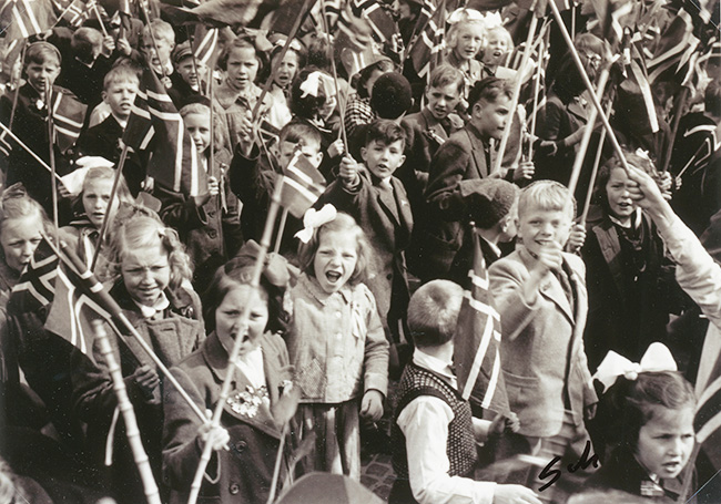 barnetoget 1945
