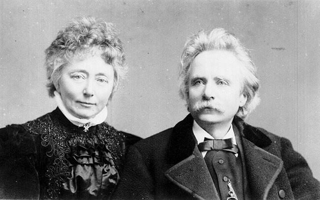 Edvard & NIna Grieg