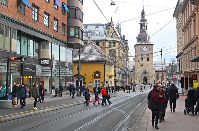 expat survey - Oslo street