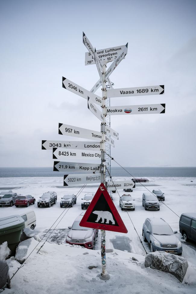Russia Norway Svalbard