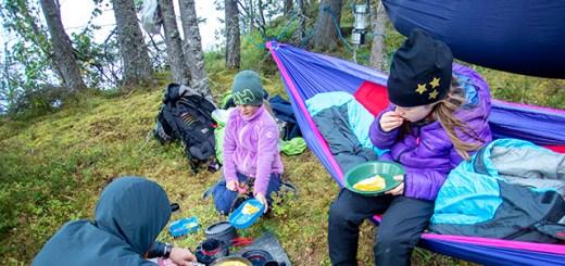 Norwegians - Camping