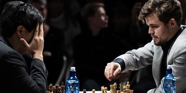 Magnus Carlsen - World Cup Fischer Chess Tournament