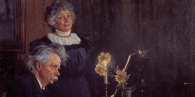 Edvard and Nina Grieg