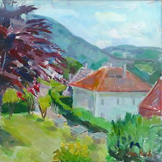 Bergen painting