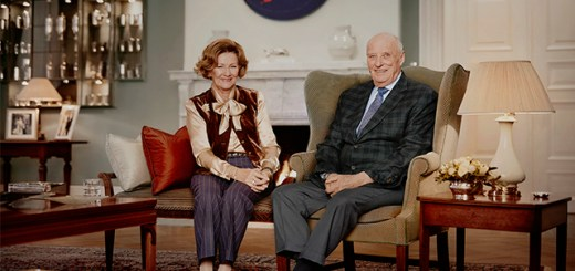 King Harald Queen Sonja